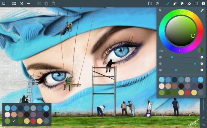 Interfaz de Artflow
