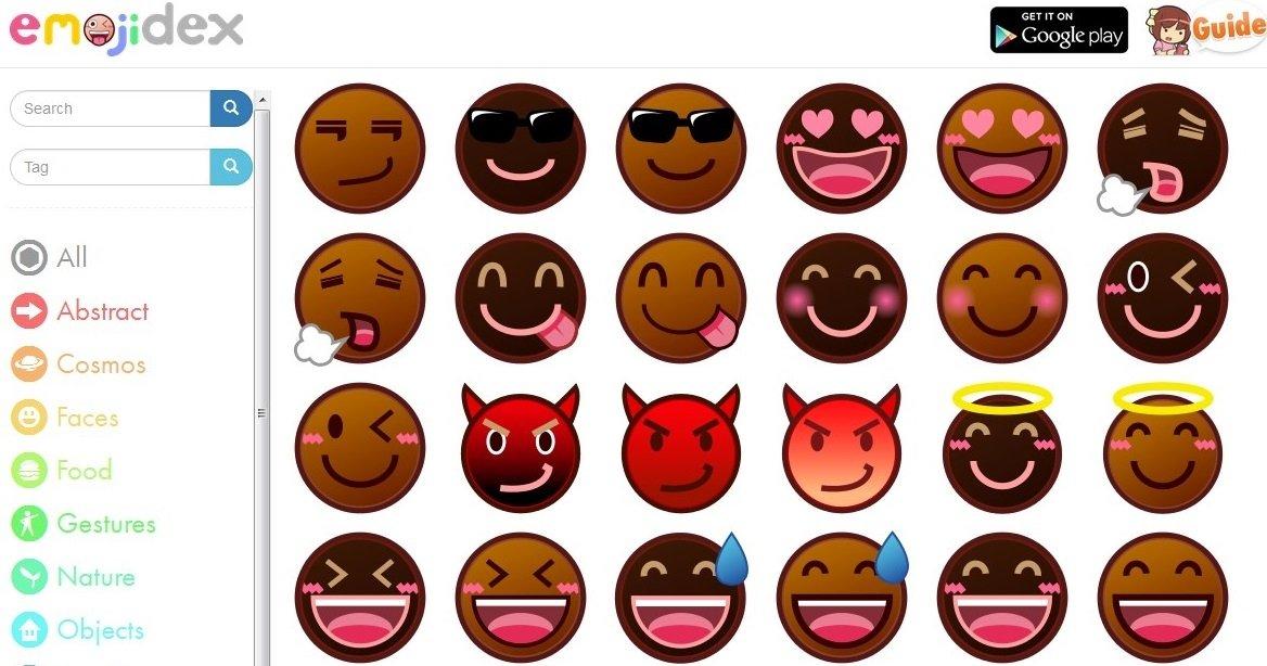 Interfaz de emojidex
