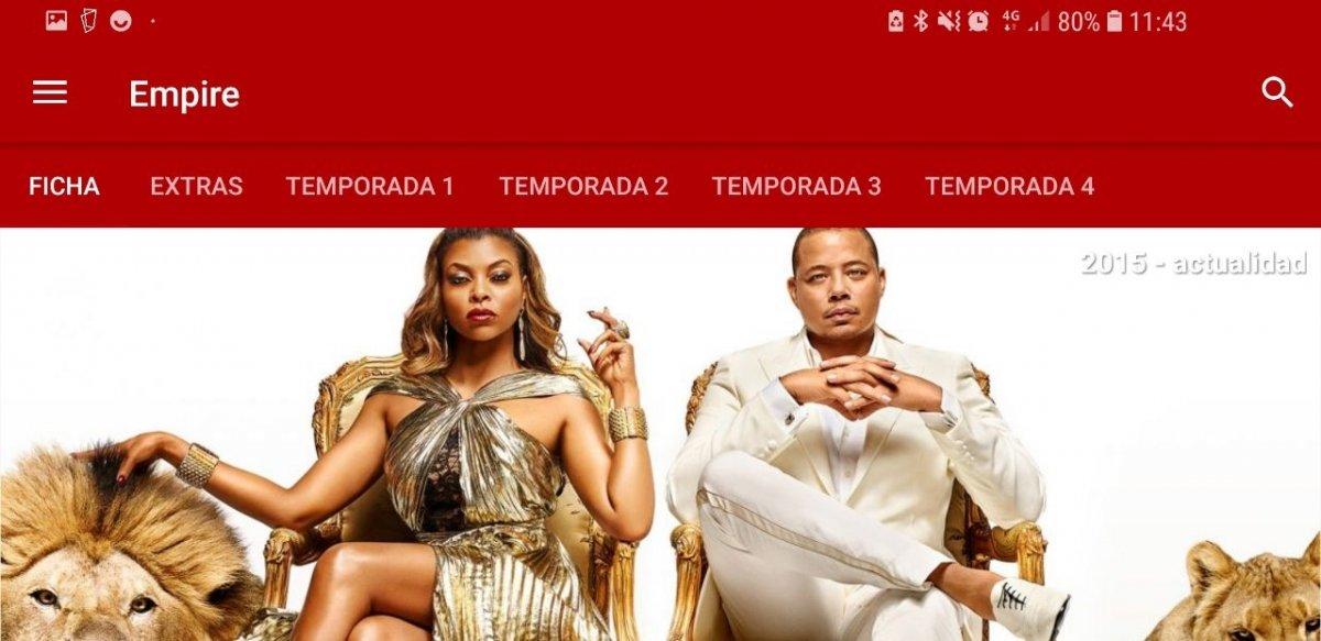 Interfaz de MasDeDe