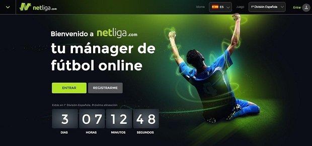 Interfaz de NetLiga