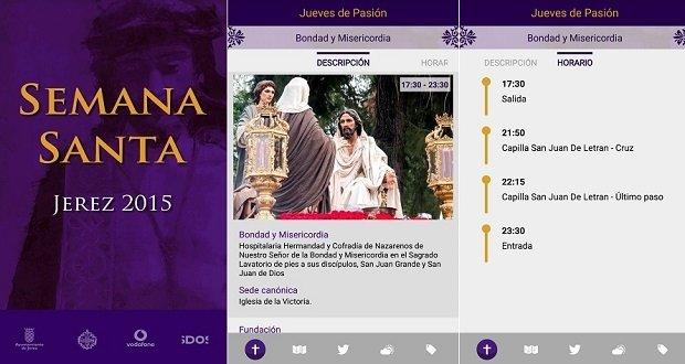Interfaz de Semana Santa Jerez