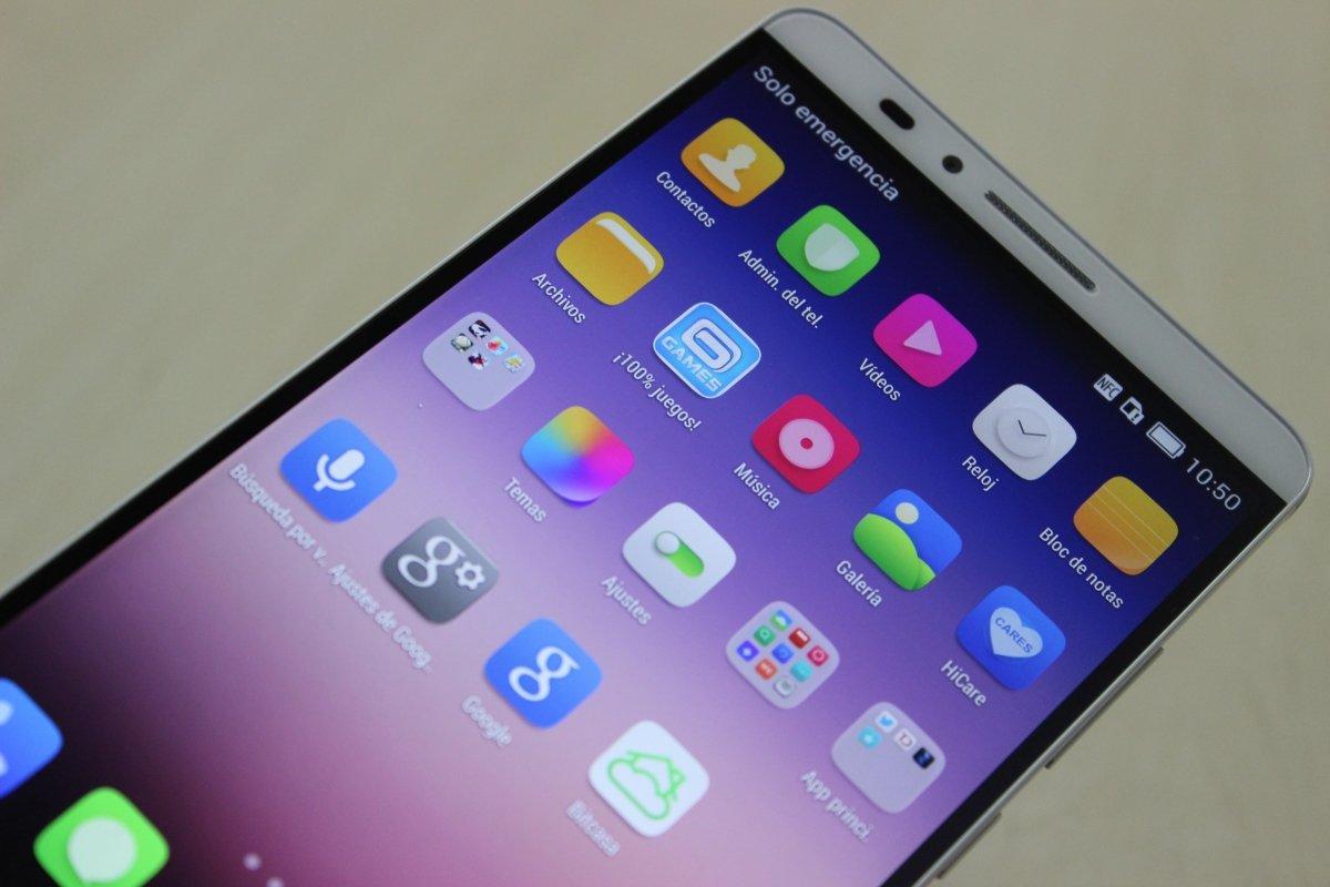 Interfaz EMUI o EMOTION 3.0 de Huawei Ascend Mate 7