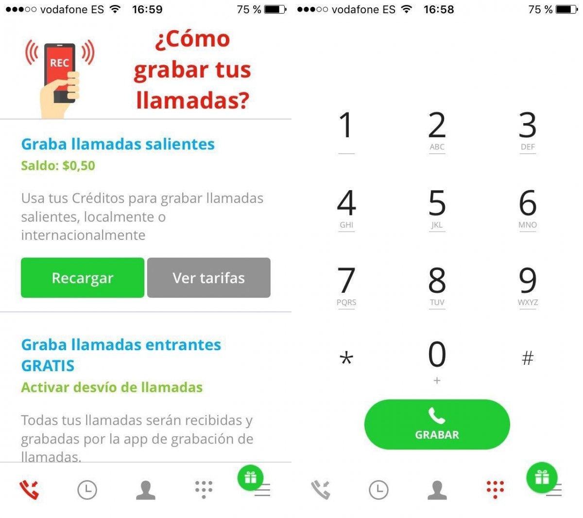 iOS también permite grabar llamadas mediante apps