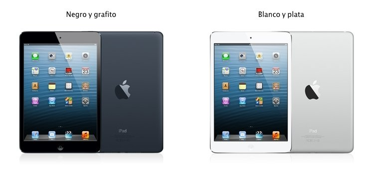 iPad mini, colores