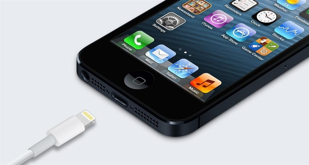 iPhone 5-detalle Lightning
