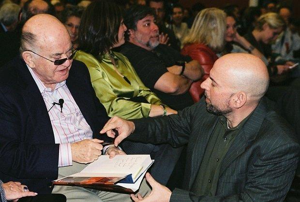 Jack Tramiel y Bil Herd en 2007