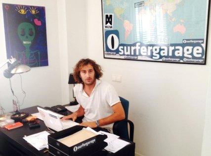 'Jaji' Iglesias une a la comunidad surfera a través de Surfergarage