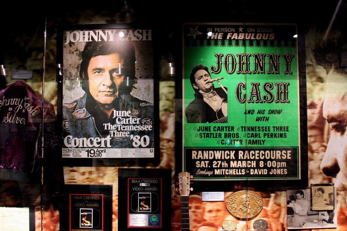 Jonny Cash es uno de los músicos americanos más importantes