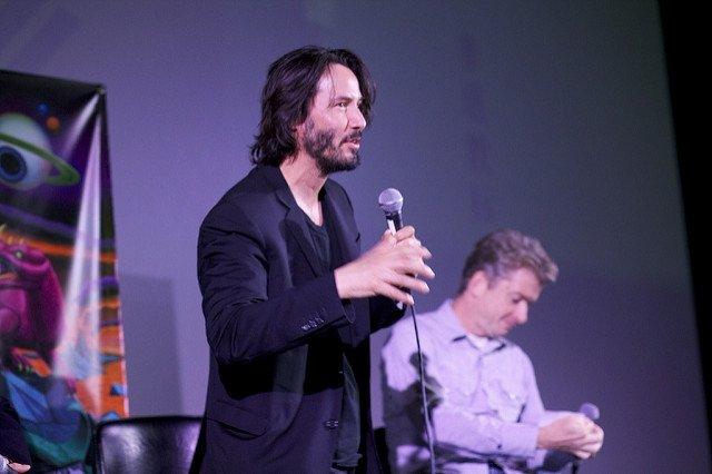 Keanu Reeves, protagonista de Matrix