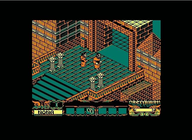La Abadía del Crimen en Amstrad CPC