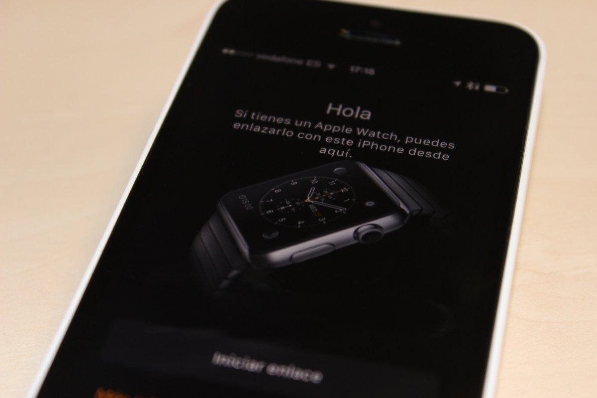 La app de Apple Watch no hace nada (al menos hasta el 24 de abril) pero es educada