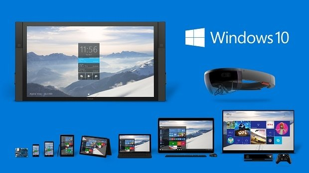 La familia de productos de Windows 10