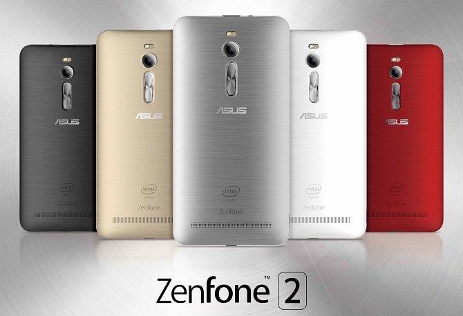 La gama de colores el nuevo Asus ZenFone 2