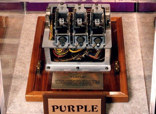 La máquina de cifrado japonesa PURPLE