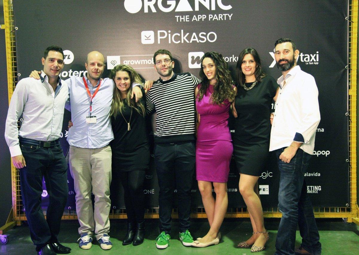 La organización, el equipo de PickASO