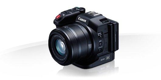 La primera cámara 4K de Canon