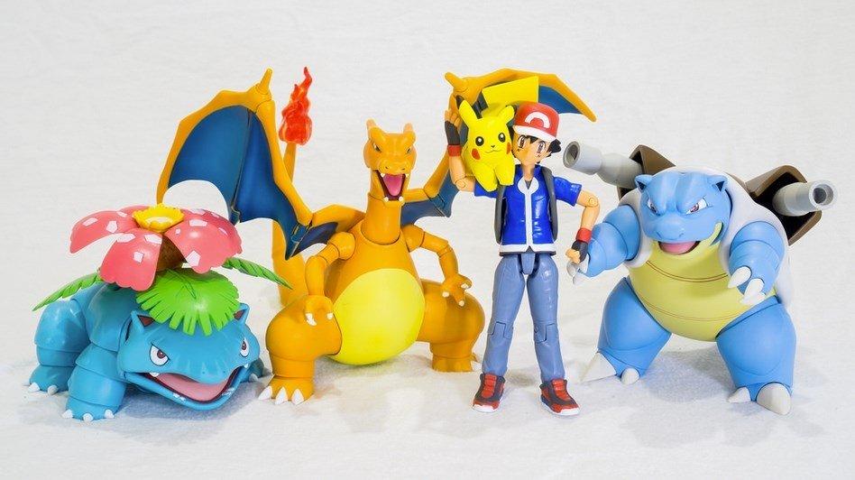 La primera generación de Pokémon