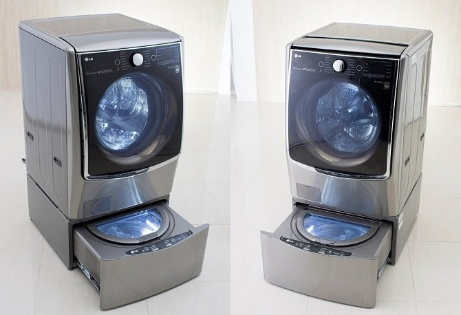 La primera lavadora doble, el LG Twin Wash