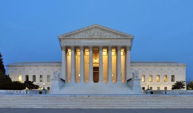 La sede del Tribunal Supremo de Estados Unidos