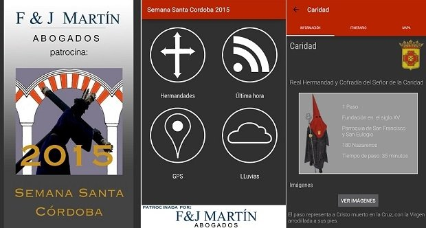 La Semana Santa cordobesa, mucho mejor con Semana Santa Córdoba 2015