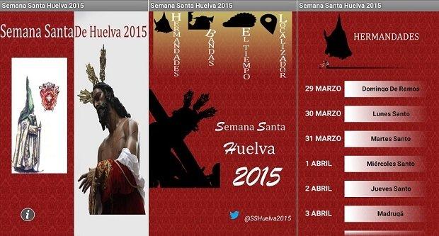 La Semana Santa de Huelva se vive con mucha pasión desde el móvil