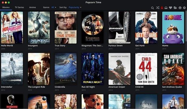La vulnerabilidad de Popcorn Time permite cambiar los contenidos de la aplicación
