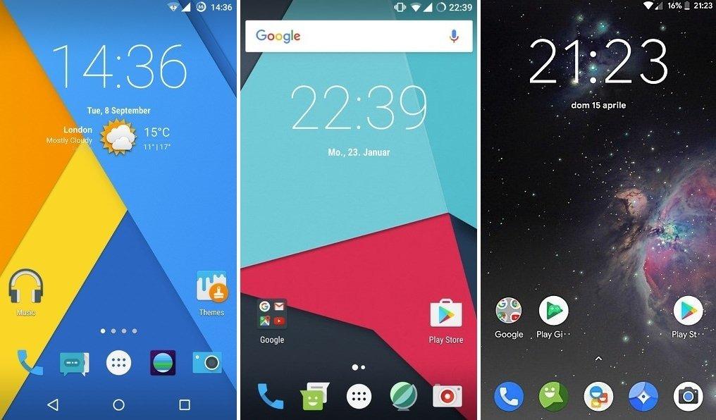 La ya desaparecida Custom MOD CyanogenMod y su 'sustituta' LineageOS (versiones 14 y 15)
