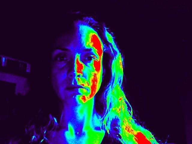 Las imágenes termales también se han usado para detectar mentiras