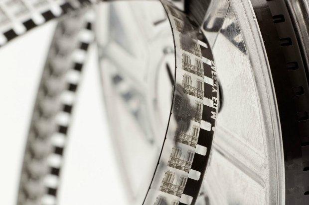 Las películas fotográficas tenían haluro de plata, un material sensible a la luz