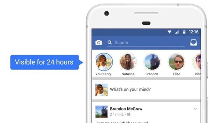 Las publicaciones de Facebook Stories durarán 24 horas