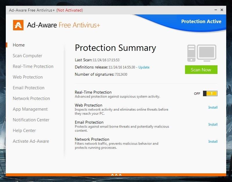 Lavasoft Ad Aware Free Antivirus+