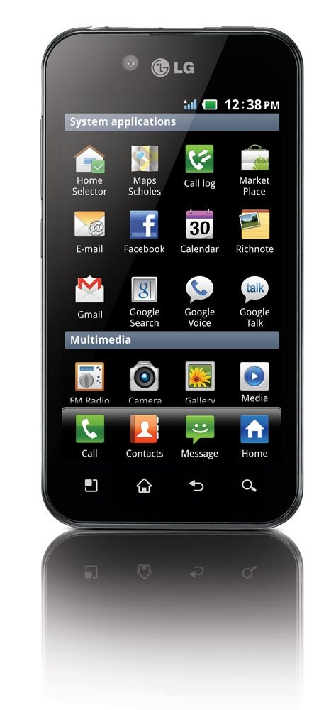 LG Optimus Black frontal