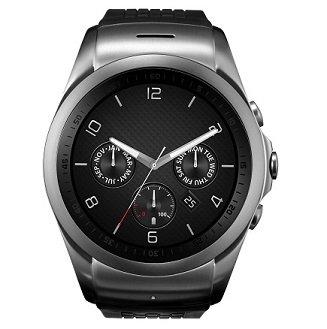 LG Watch Urbane en negro con correa en caucho