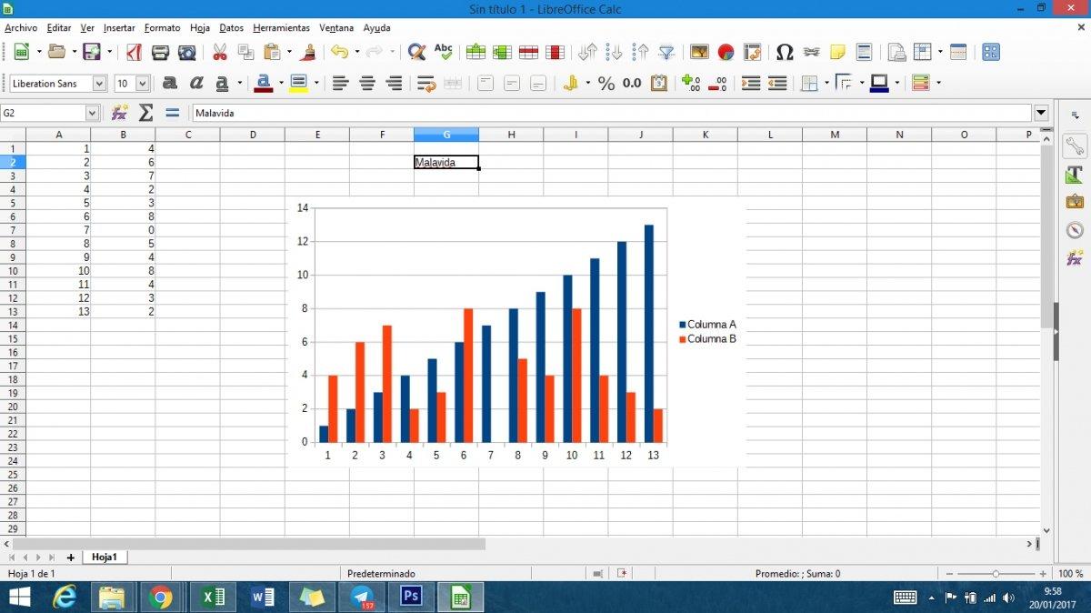 LibreOffice Calc para Windows