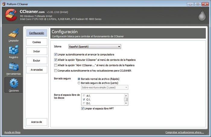 Limpia Windows 12