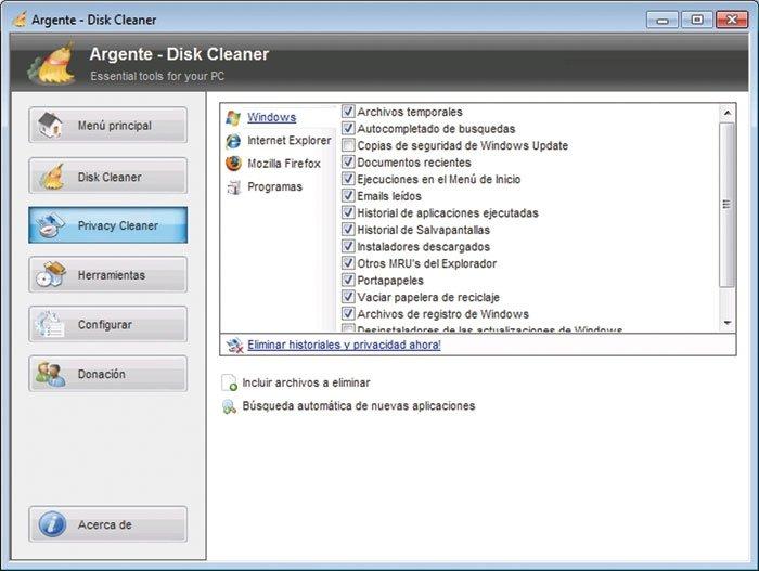 Limpia Windows 13