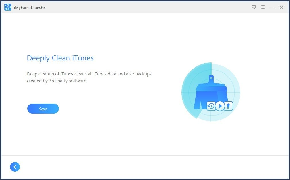 Limpieza a fondo de iTunes con iMyFone TunesFix