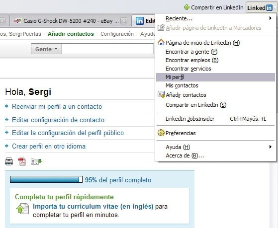 Organiza tu vida social con Firefox