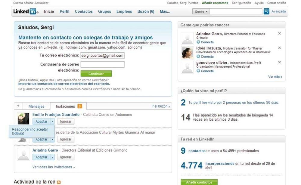 LinkedIn: red social orientada al mundo laboral