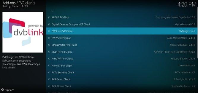 Listas de addons en Kodi para Android