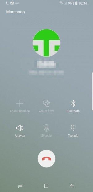 Llama después al siguiente contacto