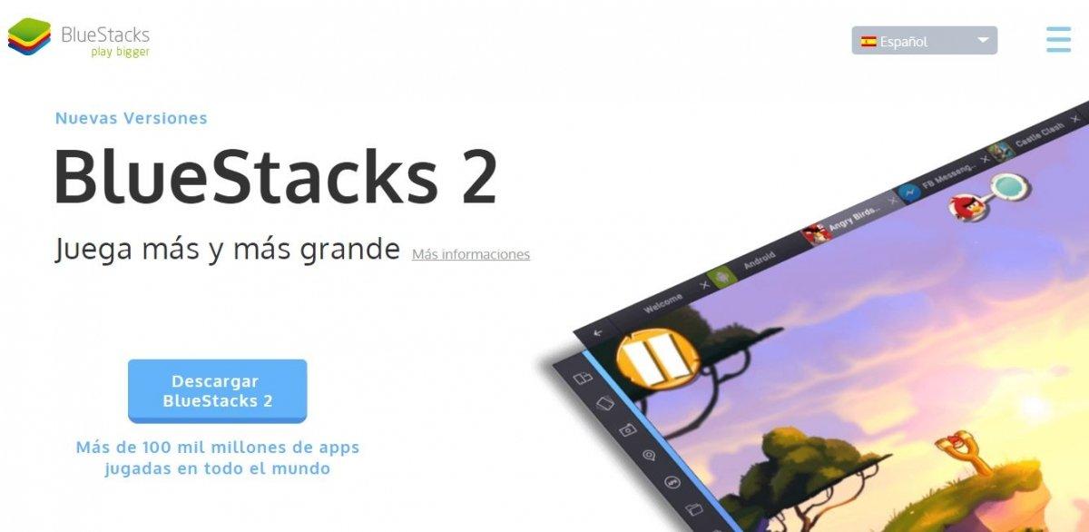 Lo mejor que podemos hacer es descargar Bluestacks, uno de los más famosos emuladores de Android