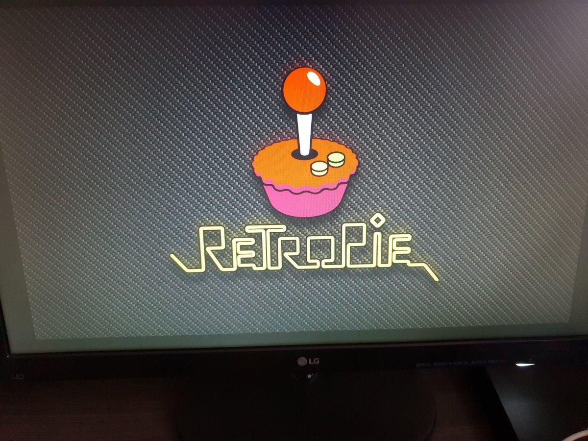 Logo de inicio de RetroPie
