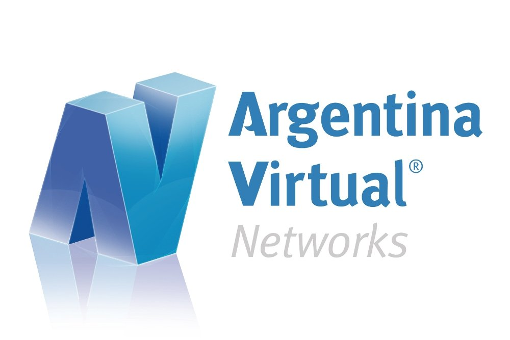 Logotipo de Argentina Virtual Networks