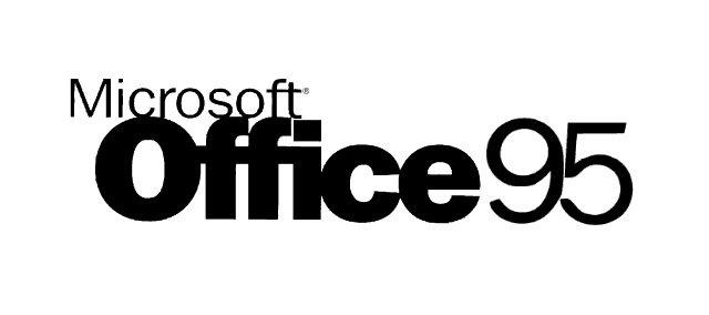 Logotipo de Office 95