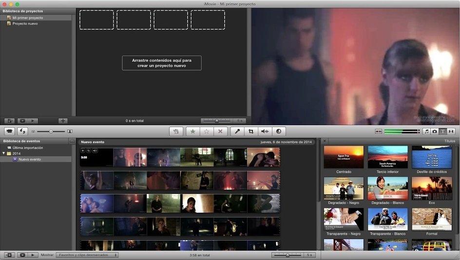 Los 10 mejores programas de edición de vídeo para Mac