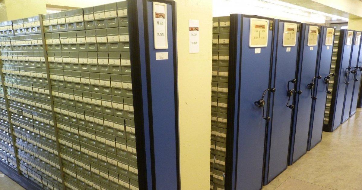 Los almacenamientos de microfilmes hoy en día