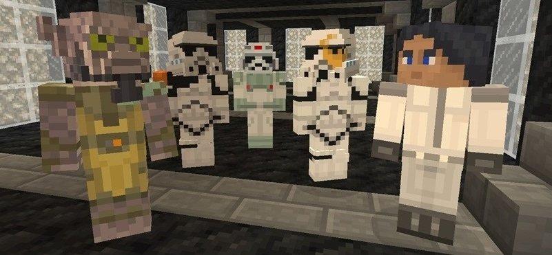 Los jugadores de Minecraft amenazados por el Lado Oscuro