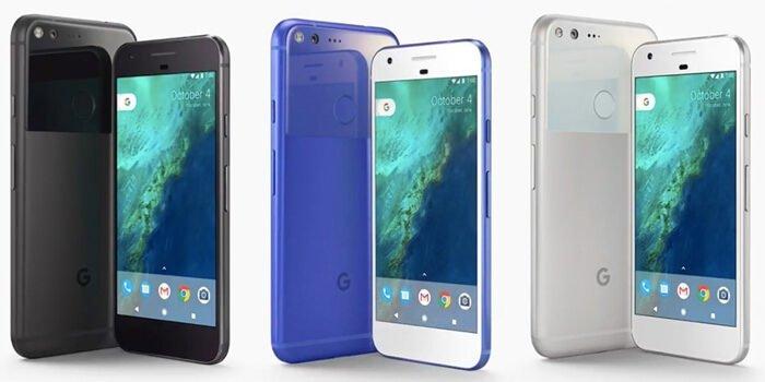 Los nuevos Google Pixel con Android 7 Nougat