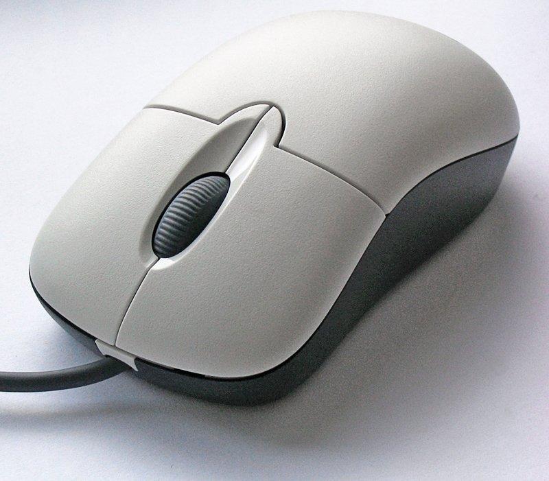 Los ratones con rueda permitían hacer scroll fácilmente